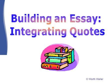 How to write an essay on a quote
